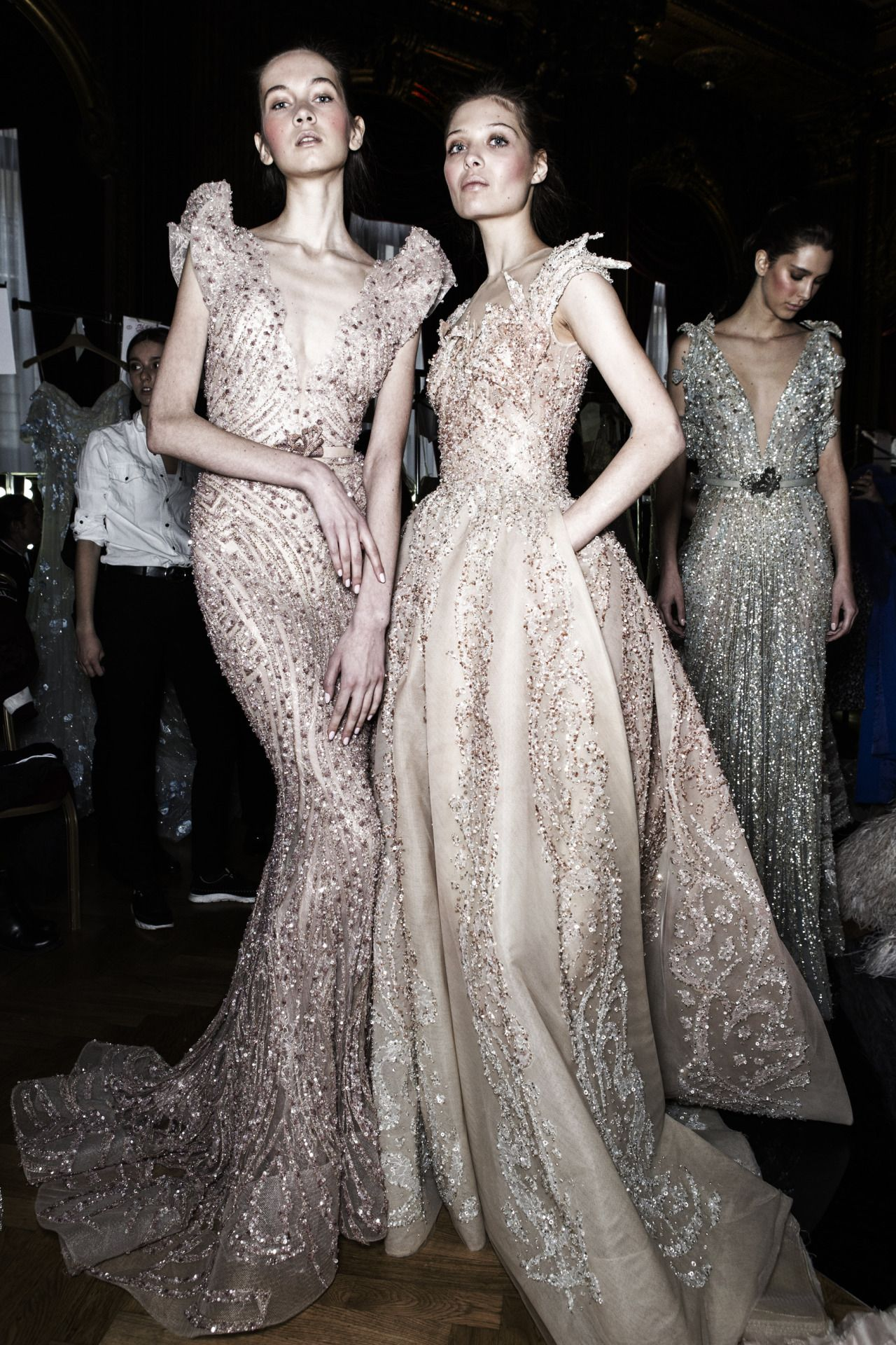 Ziad Nakad - Spring 2017 Couture Backstage.