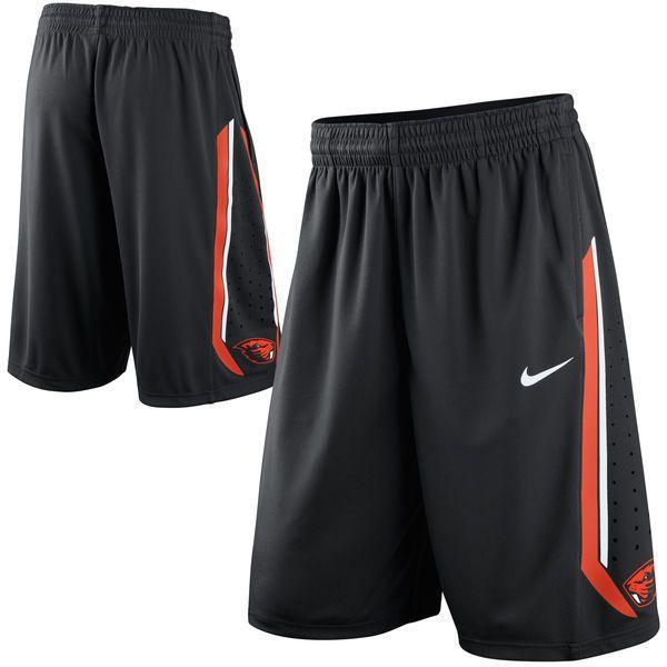 Nike Oregon State Beavers Team Replica On-Court Basketball Shorts Large  NCAA #Nike #