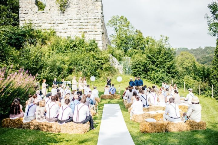 Mariage bohémien à la campagne de Maisenburg  Decoration