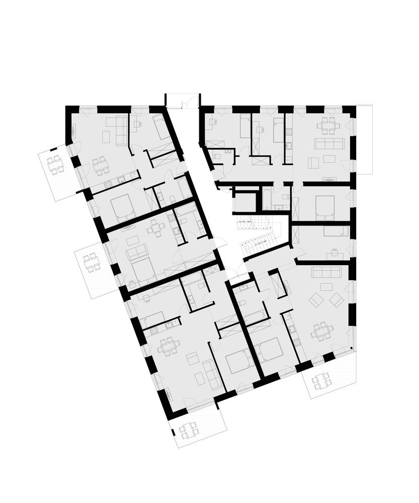 Apartment Floor Plans Mixed Use Apartments Buildings Building Luxury Flats S Archdaily 889019 Pilies