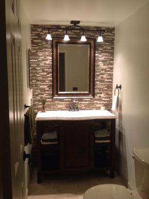 26 Half Bathroom Ideas And Design For Upgrade Your House  Dream Custom Half Bathroom Design Ideas