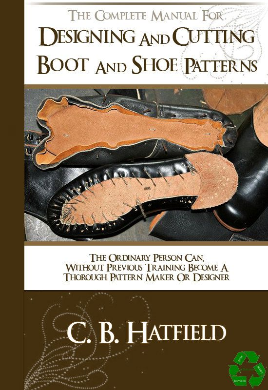 designing and cutting boot and shoe patterns 147 pages complete rh pinterest com Training Manual Templates Microsoft Word Employee Training Manual