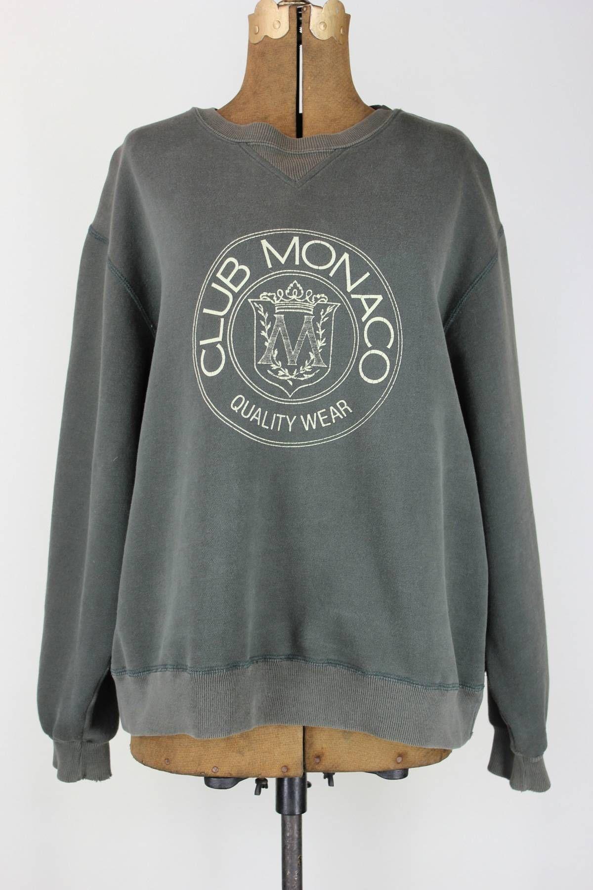 Club Monaco Vintage Sweatshirt, size L   Sweatshirts