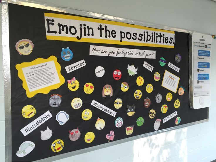 Classroom Decoration Emojis : Emoji bulletin board boards doors pinterest