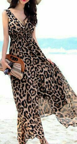 Pin By Eve S On Leopard In 2019 Animal Print Dresses