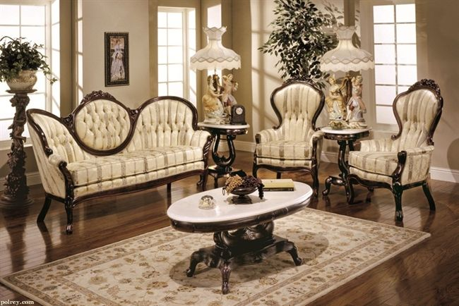 Victorian Furniture Living Room Set 606 Victorian Living Room