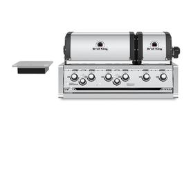 Broil King Imperial Xls 6 Burner Stainless Steel Built In Natural Gas Grill 957087 In 2020 Propane Gas Grill Built In Cabinets Outdoor Kitchen Design