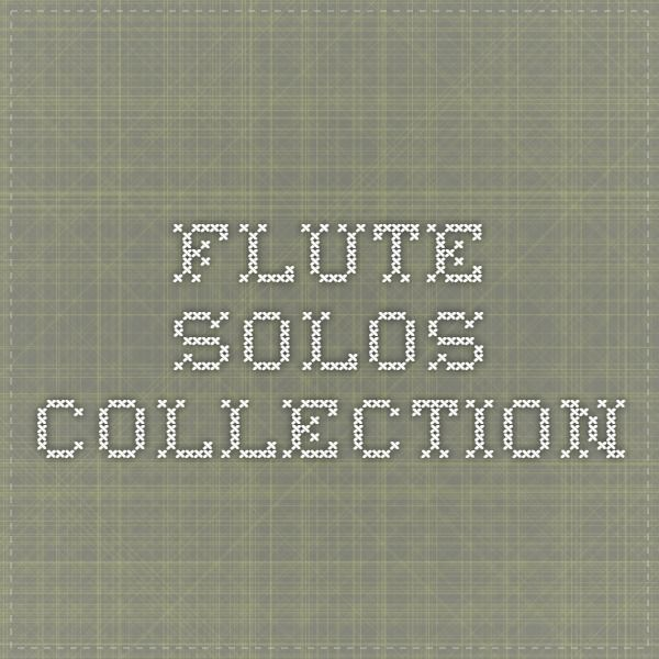 Flute Solos collection