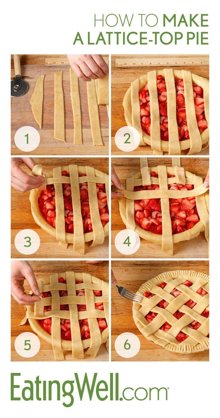 How to Make a Lattice Top Pie