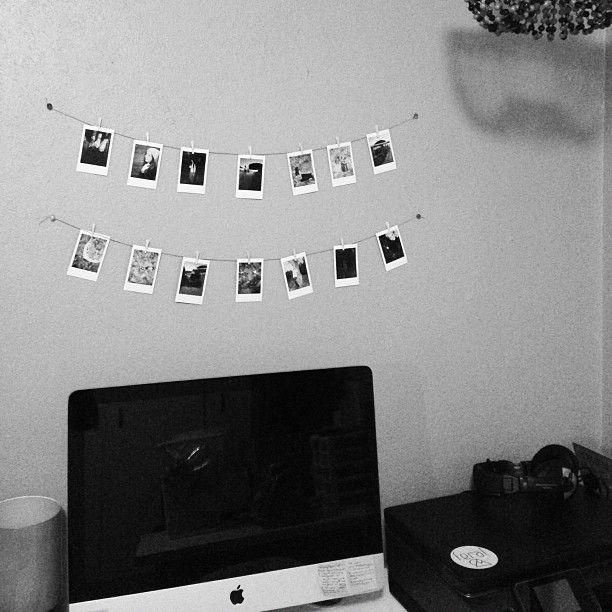 Hanging Polaroids Via Feral Watches
