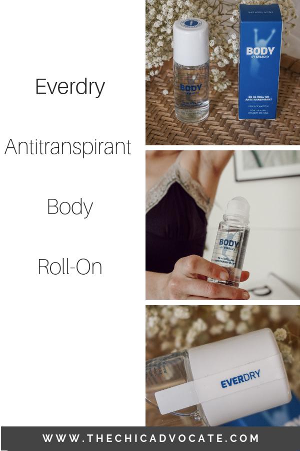 Produktetest Everdry Antitranspirant Body Roll On Schweissgeruch Gesicht Pflege Und Gesichtspflege