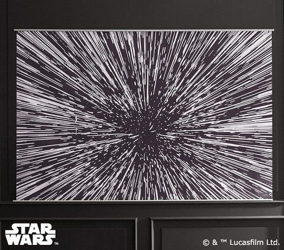 Star Wars 8482 Hyperdrive Mural Star Wars Wall Decor Star Wars Theme Room Mural