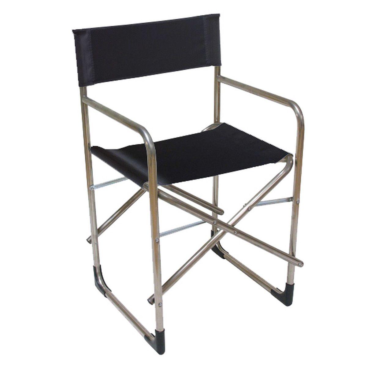 Fiam Regie Aluminium Sessel Schwarz Sessel Aluminium Und