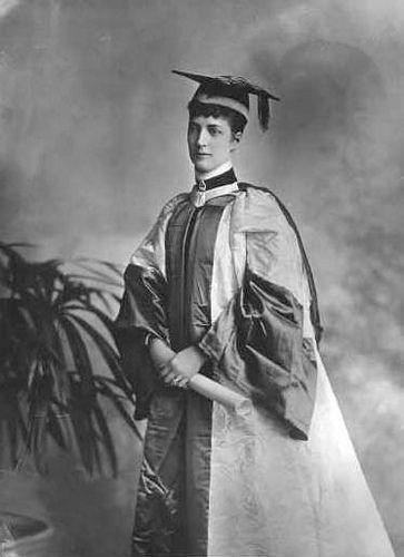 Queen Alexandra as a Student