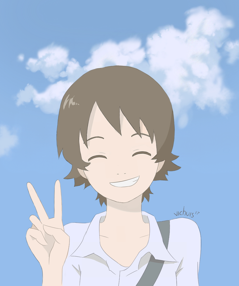 Makoto The Girl Who Leapt Through Time Color By Vichuis On Deviantart Anime Films Japanese Animated Movies Cute Anime Wallpaper