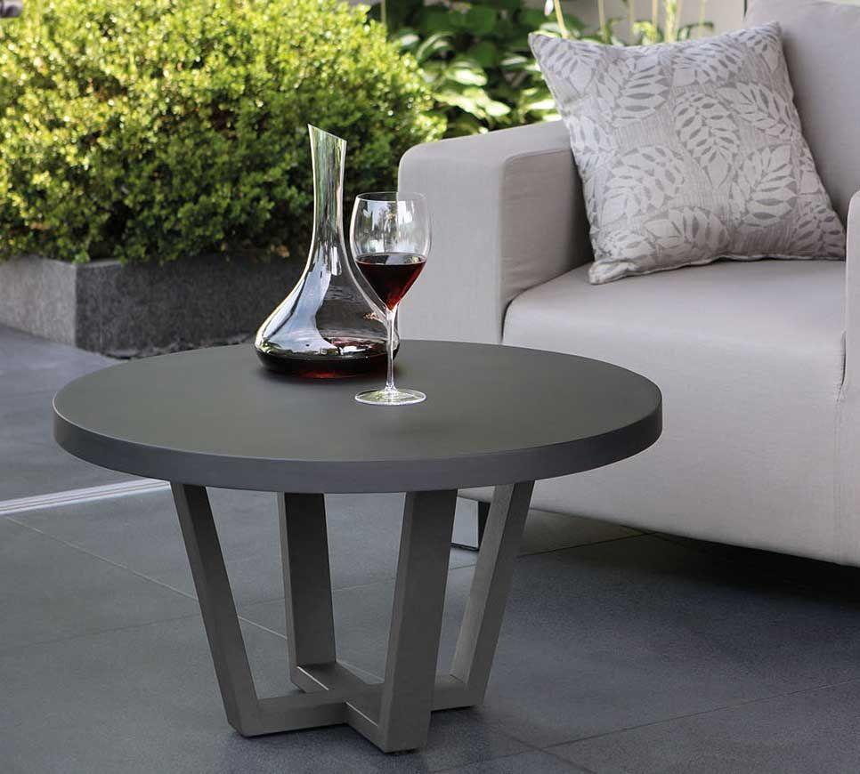 fink living runder couchtisch schwarz montana kaufen im borono online shop fink carlo. Black Bedroom Furniture Sets. Home Design Ideas