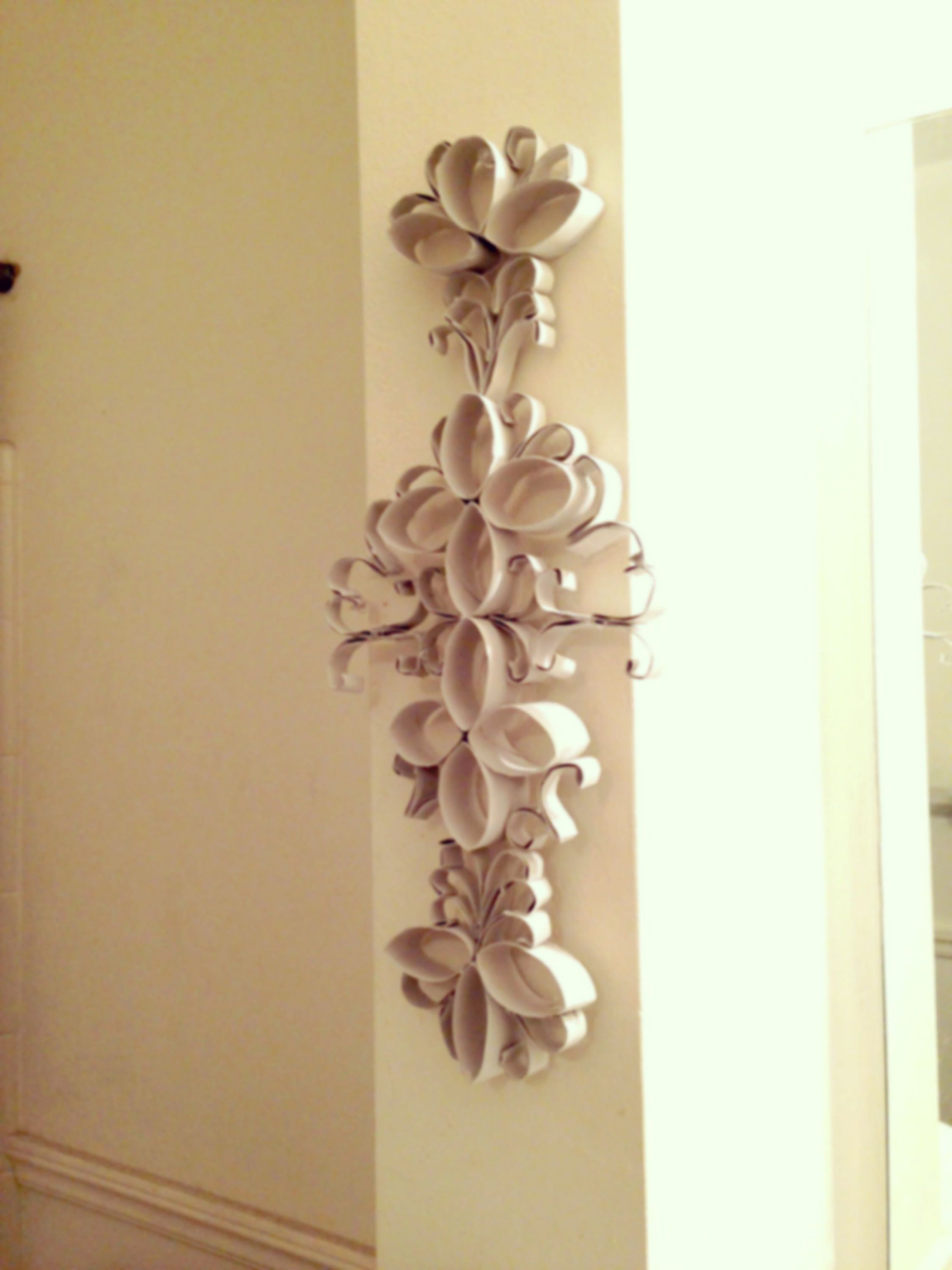 DIY: recycling toilet paper roll | rolled paper art toilet roll art ...