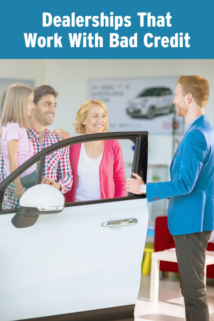 Where to find car dealerships that work with bad credit