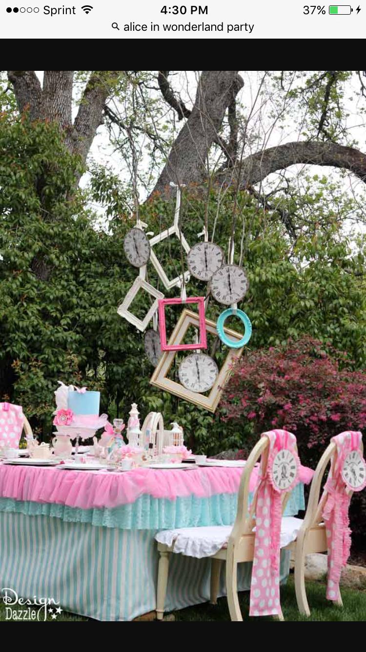 Alice in wonderland party idea | Party Ideas | Pinterest | Für dich ...