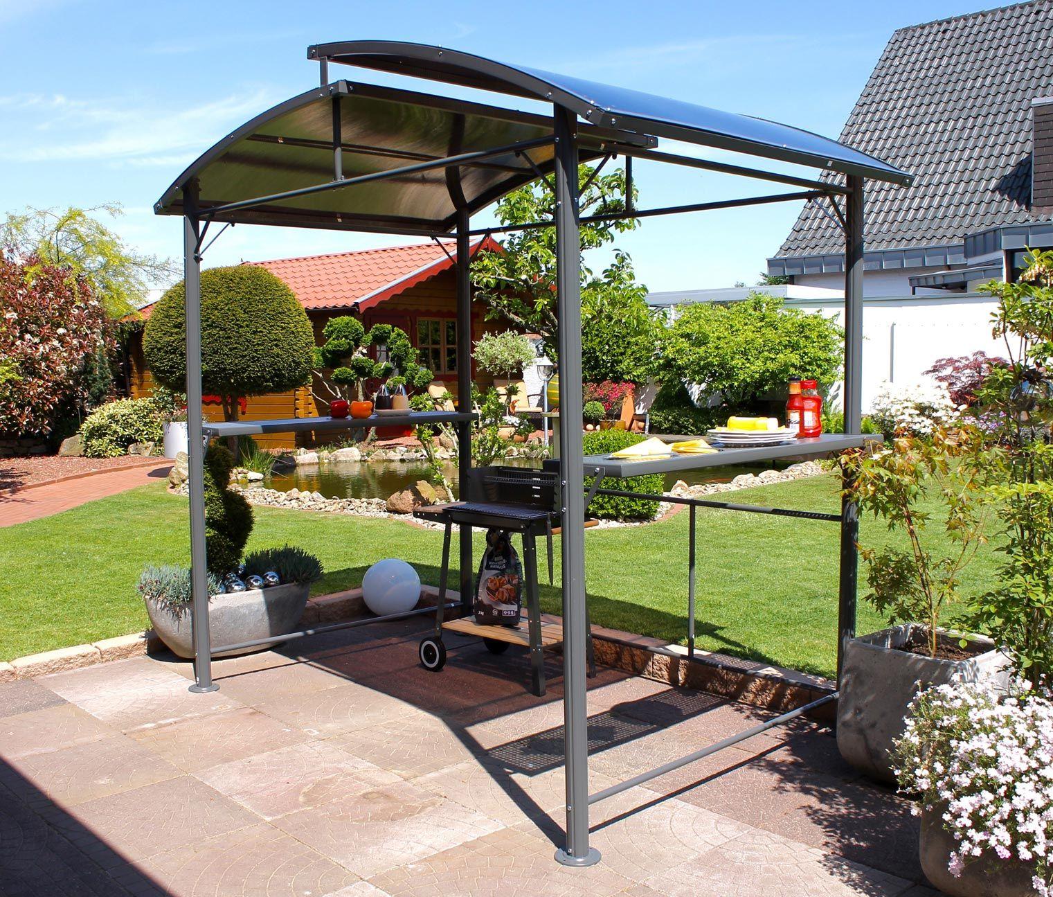 Leco Profi Grillpavillon Grill Pavillon Pavillon Whirlpool Garten