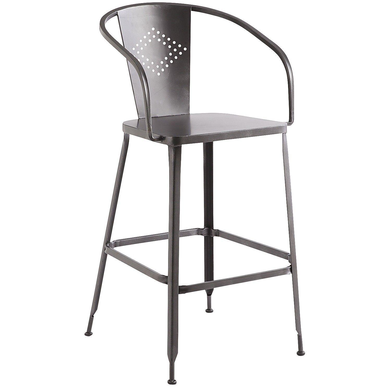 Weldon Barstool - Gunmetal   Red bar stools, Bar stools ... on Belham Living Lilianna Outdoor Daybed id=67391