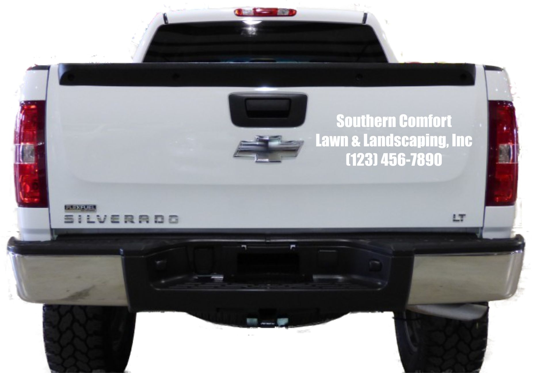Thanks Southern Comfort For Your Tailgate Vinyl Decal Order - Custom vinyl lettering car decals