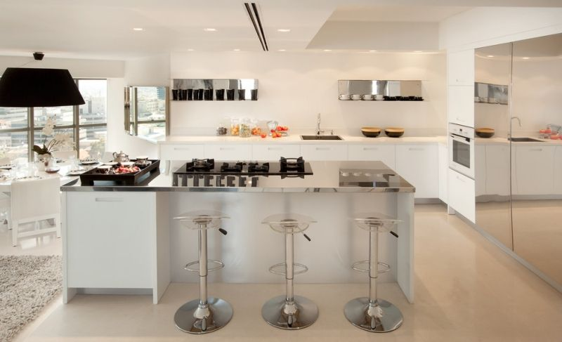Arbeitsplatten aus Edelstahl für die moderne Küche Ideas para el - arbeitsplatten f r die k che