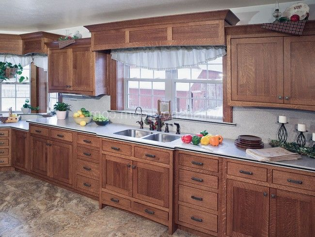 Mission Oak Kitchen Cabinets Google Search