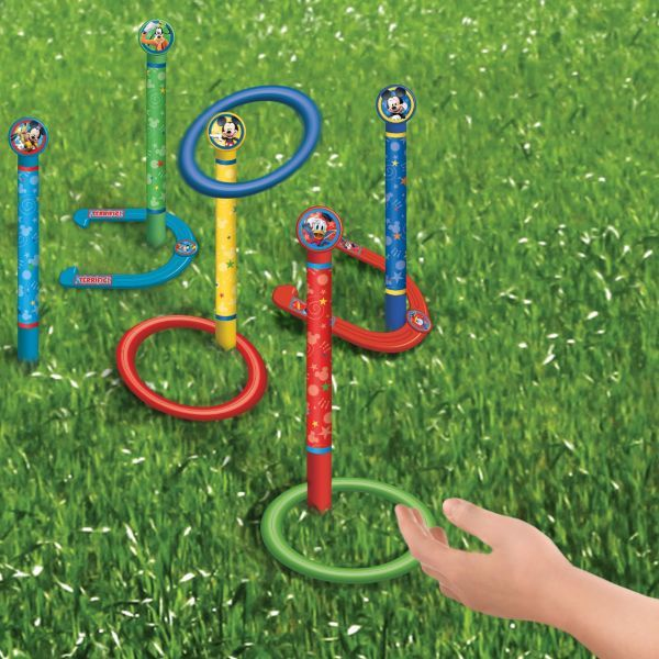 Mickey Mouse Ring Toss and Horseshoes Game $10