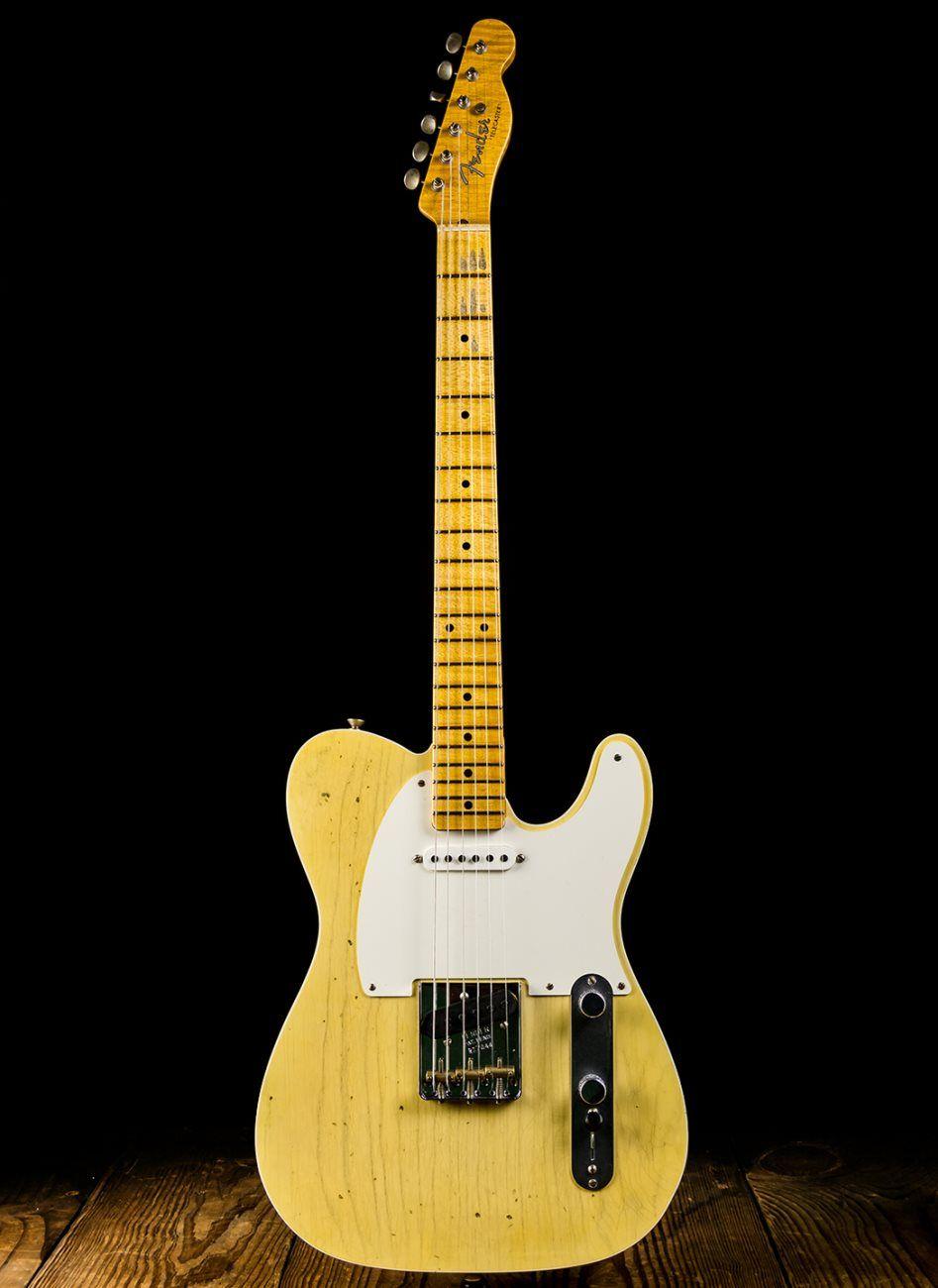 Fender 50s Journeyman Relic Telecaster Super Faded Nocaster Blonde Guitar Telecaster Fender Telecaster