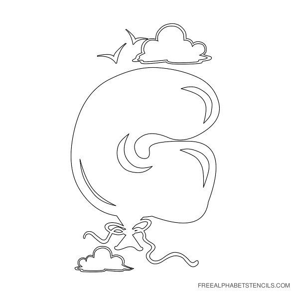 Bubble letter g divingexperience bubble letter g spiritdancerdesigns Images