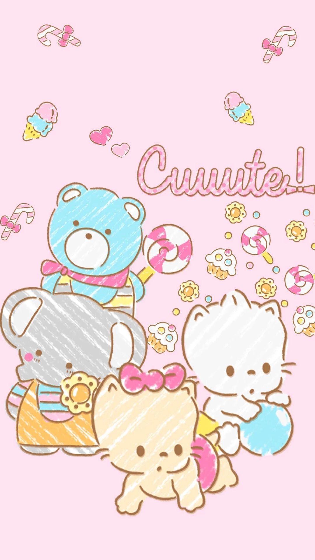 Sanrio Characters サンリオ イラスト 壁紙 かわいい あいふぉん 壁紙