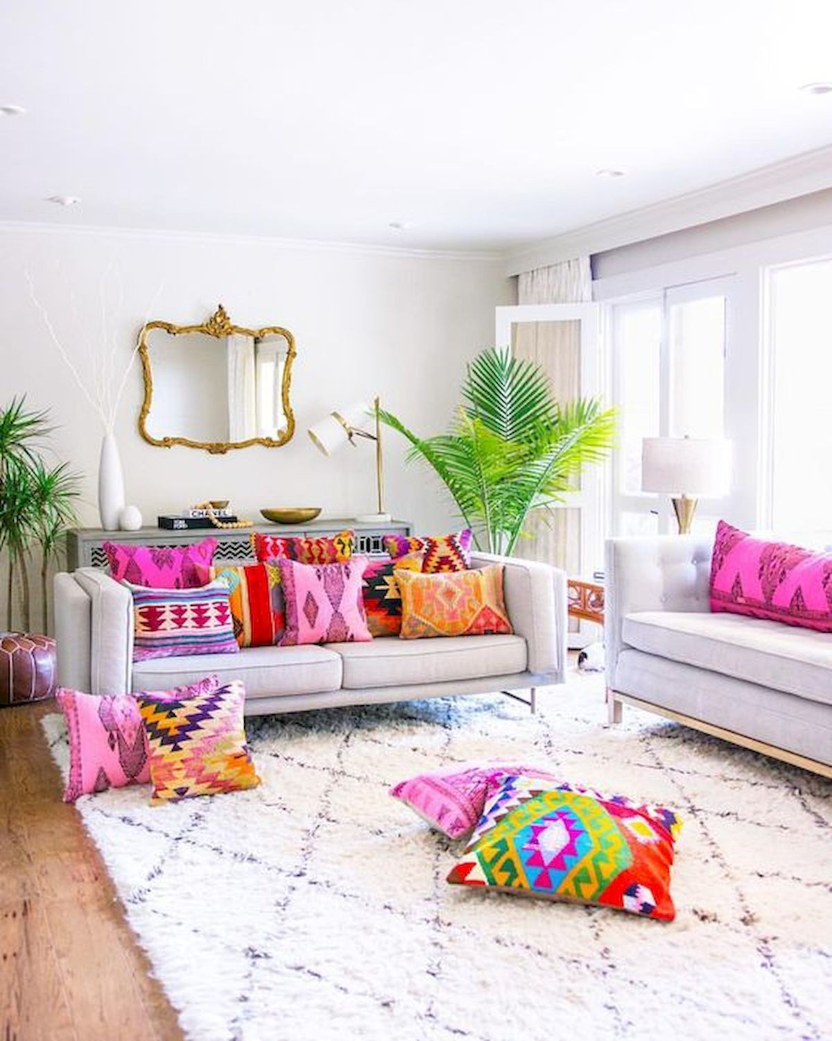 Photo of colorful home decor
