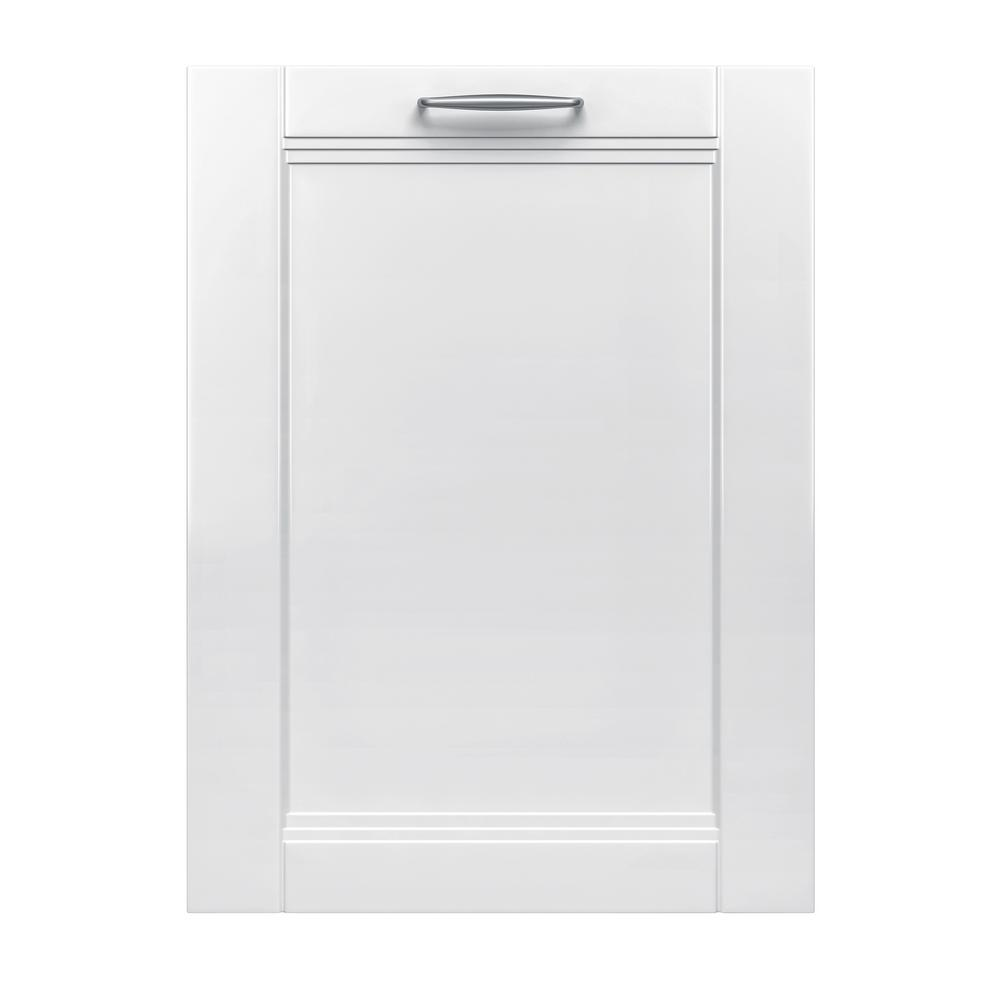 Bosch 300 Series 24 In Custom Panel Ready Top Control Tall Tub Dishwasher With Stainless Steel Tub And 3rd Rack 44dba Shvm63w53n The Home Depot Steel Tub Ikea Kitchen Bosch