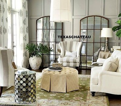 Awe Inspiring Set 2 Large French Country Farmhouse Bronze Iron Arched Download Free Architecture Designs Scobabritishbridgeorg