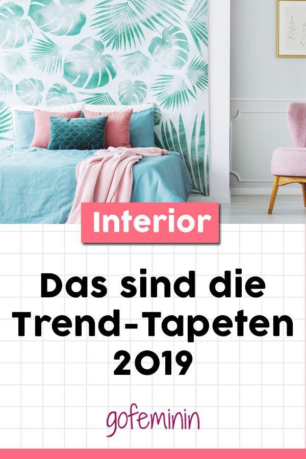tapeten trends so stylt ihr das trend piece 2019. Black Bedroom Furniture Sets. Home Design Ideas