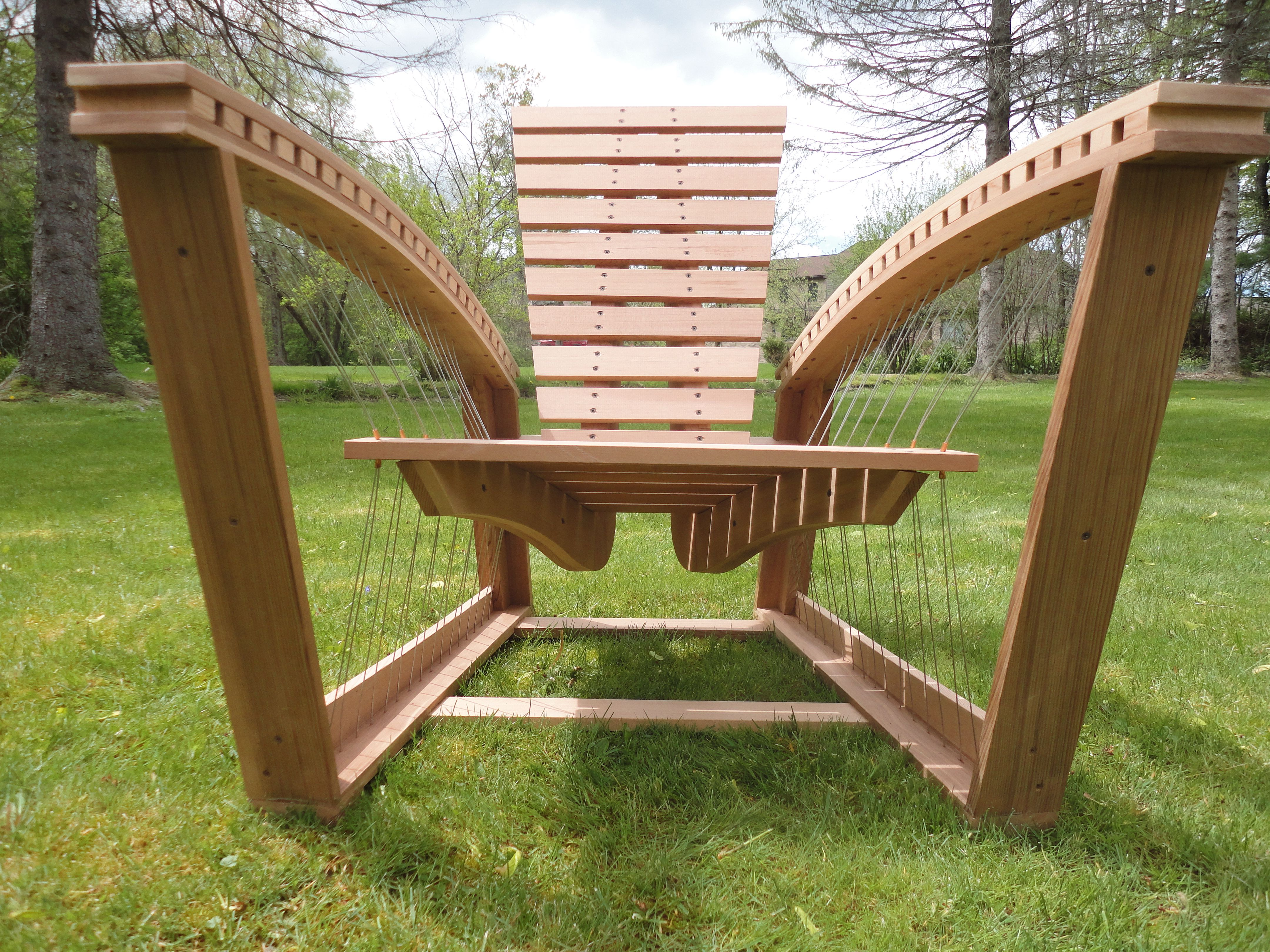 Adirondack Chair by Robby Cuthbert. This is my fantasy outdoor ...