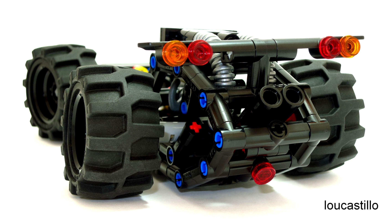 Lego Technic Rail Buggy Frame MOC   My Lego MOC\'s   Pinterest   Lego ...