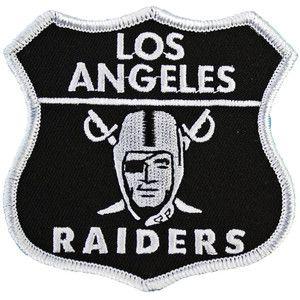 Los Angeles Raiders Patch Raiders Patch Raiders Nfl Raiders