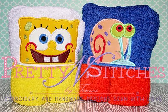 Set of sea creature peeker applique embroidery designs hoop