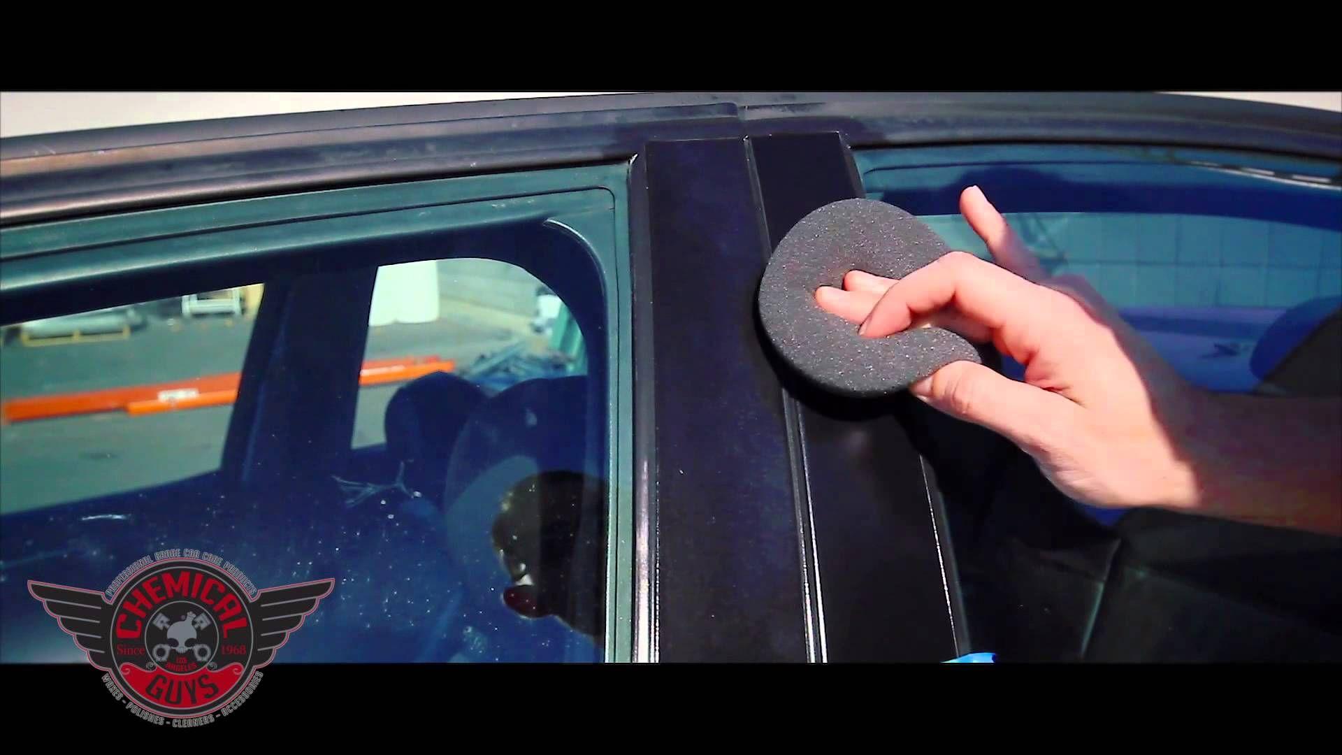 how to restore plastic trim chemical guys trim gel detailing car care diy repairs pinterest. Black Bedroom Furniture Sets. Home Design Ideas