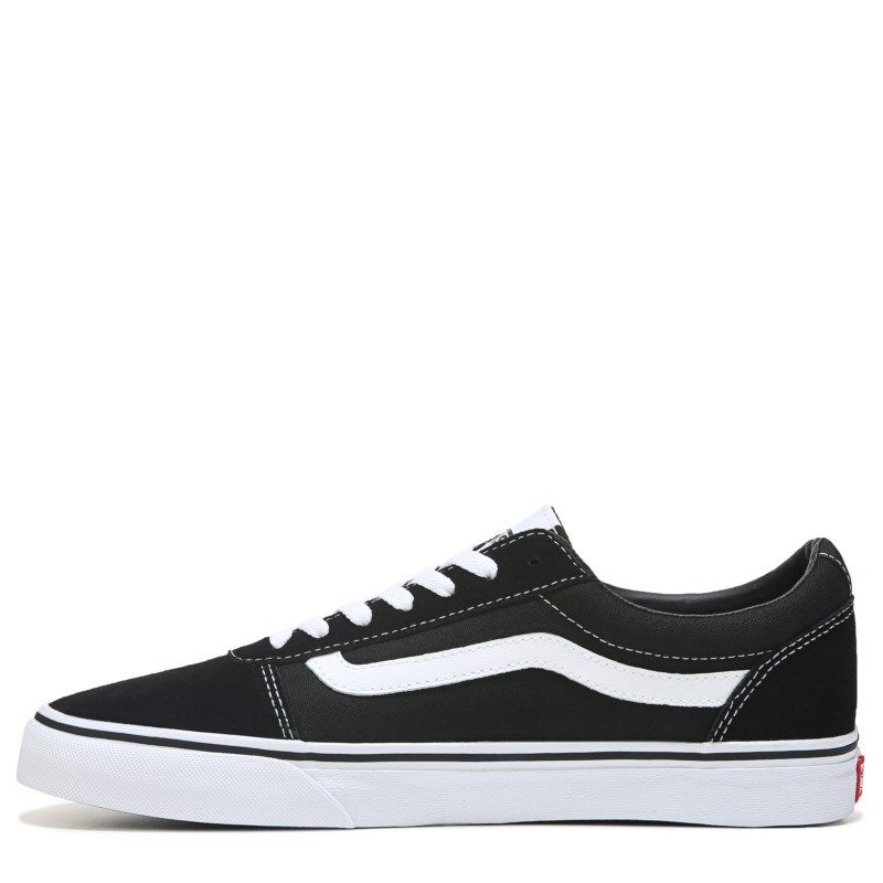 cc76530a735592 Vans Men s Ward Low Top Sneakers (Black White) - 11.0 M