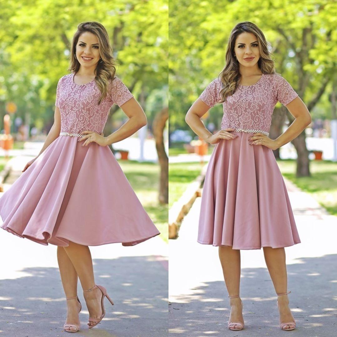 86c0e47d7c Meninas esse lindo vestido está um sucesso! Acompanha cinto! R  198 ...