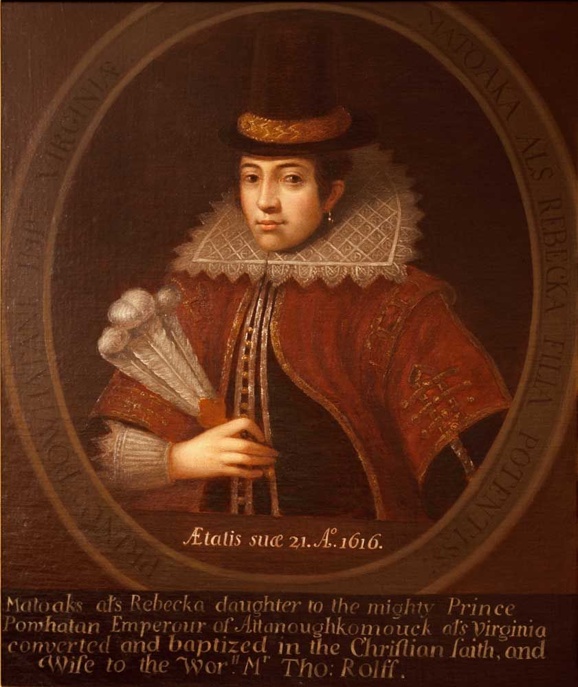 John Smith Jamestown Quotes: Portrait Of Pocahontas, US Capitol