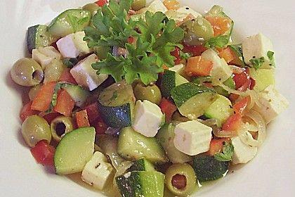 Griechischer Salat mit Schafkäse von sissimuc | Chefkoch