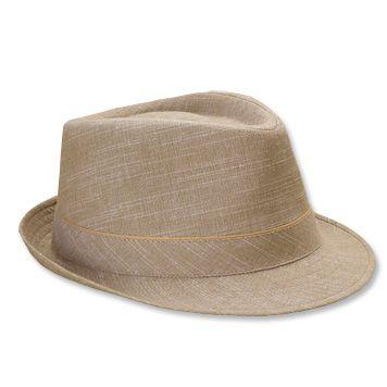 linen fedora hat men s  29425b72edf