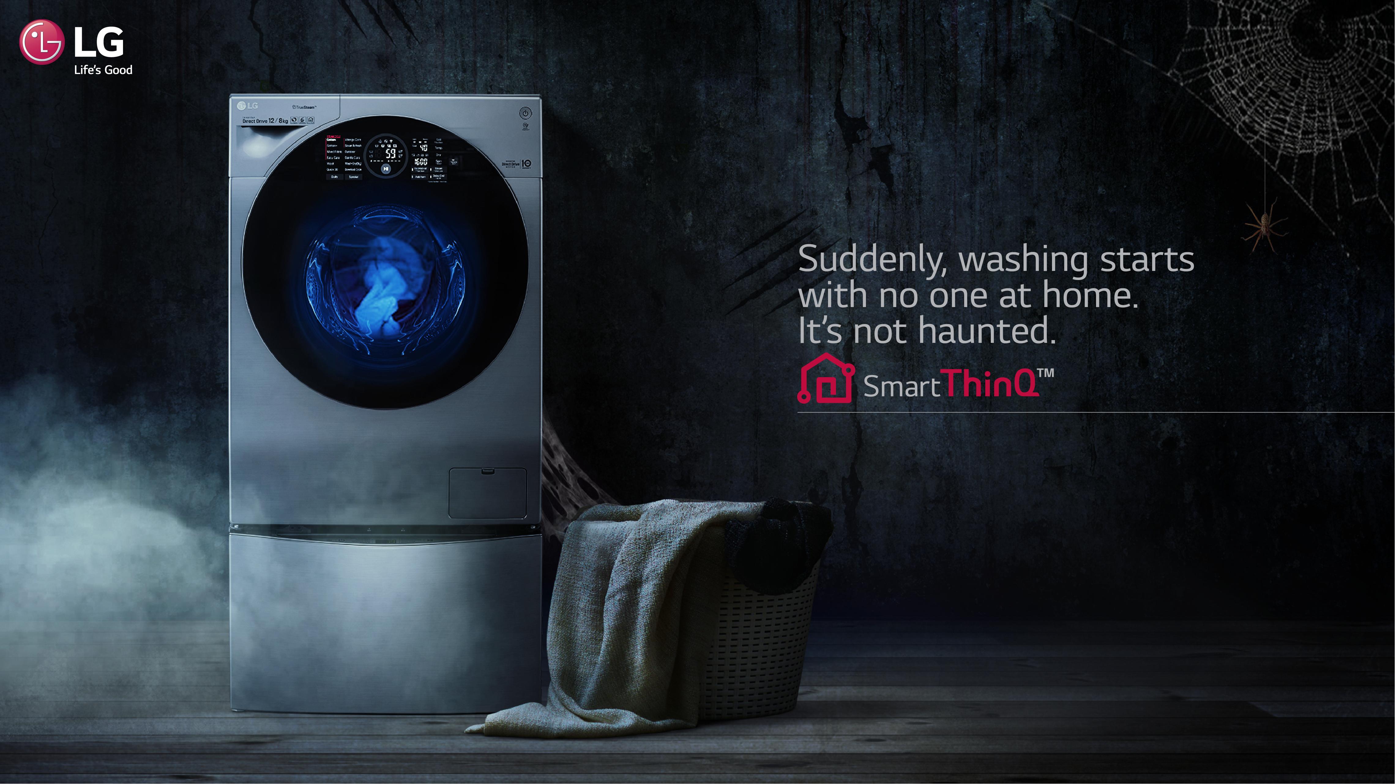 Розумна пральна машина LG, Smart ThinkQ