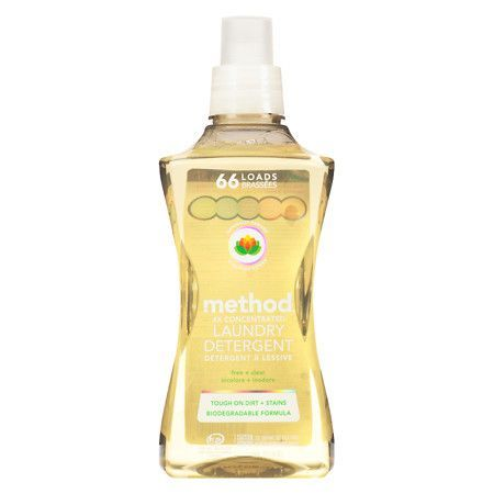 Method Laundry Detergent 4x Concentrated Free Clear 53 5 Oz
