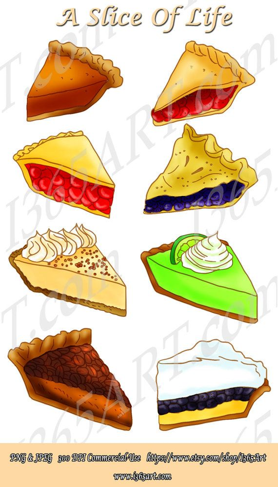 slice pie clipart dessert digital scrapbooking party invitations rh pinterest com pie clip art free pie clip art images
