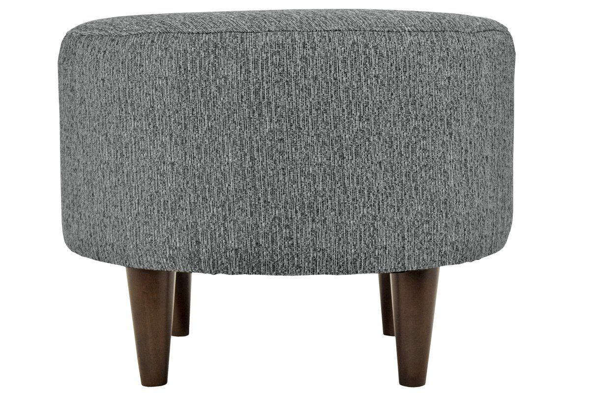 Marvelous Add An Elegant Accent To Any Room With This Round Ottoman Ibusinesslaw Wood Chair Design Ideas Ibusinesslaworg